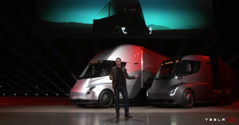 Tesla Semi Launch