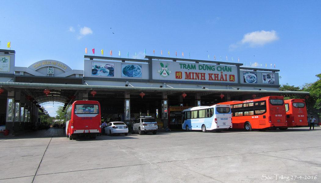Tram Dung Chan Xe Tai