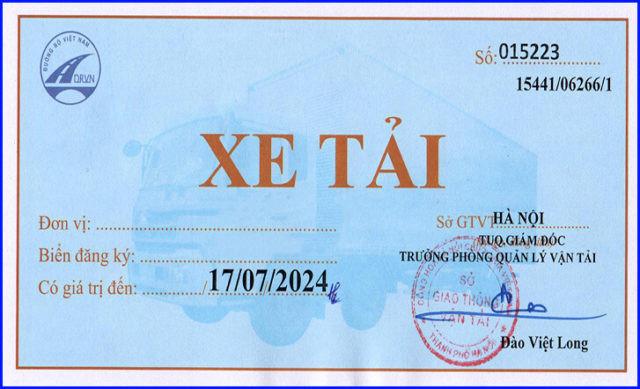 Muc Phat Xe Tai Khong Gan Phu Hieu