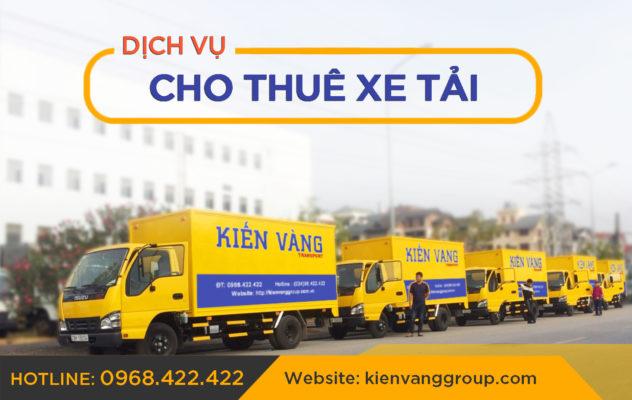 Cho thuê xe tải Kiến Vàng